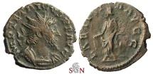 Ancient Coins - Tetricus I. Antoninianus - HILARITAS AVGG - Elmer 789
