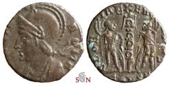 Ancient Coins - Urbs Roma City Commemorative - GLORIA EXERCITVS / CONSZ - ex Grohs-Fligely collection 1875-1962