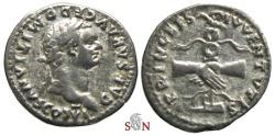 Ancient Coins - Domitianus as Caesar Denarius - PRINCEPS IVVENTVTIS - RIC 246