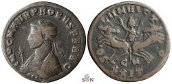 Ancient Coins - Probus Antoninianus - Sol in quadriga - RIC 911 - ex Grohs-Fligely collection 1875-1962