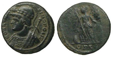 Ancient Coins - Constantinus I Follis - CONSTANTINOPOLIS