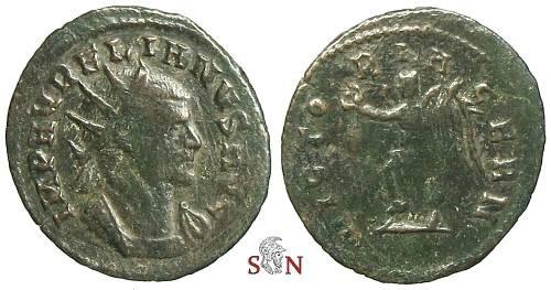 Ancient Coins - Aurelianus Antoninianus - VICTORIA GERN (sic) - Estiot 1151