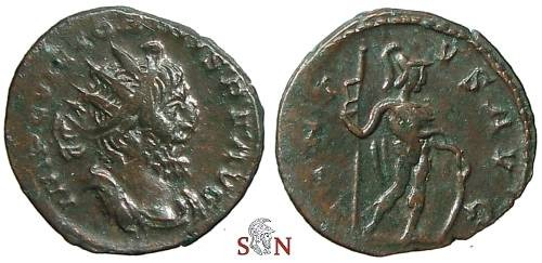 Ancient Coins - Victorinus Antoninianus - VIRTVS AVG - Elmer 699