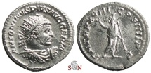 Ancient Coins - Caracalla Antoninianus - Serapis stg. facing - RIC 263e