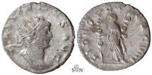 Ancient Coins - Gallienus Antoninianus - FIDES EXERC VIII - MIR 1029 r