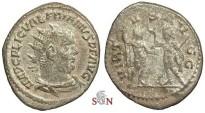 Ancient Coins - Valerianus Antoninianus - VIRTVS AVGG - RIC 292