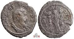 Ancient Coins - Postumus Billon Quinarius - FIDES MILITVM - Schulte Q3
