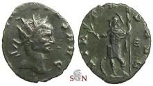Ancient Coins - Claudius II Gothicus Antoninianus - VIRTVS AVG /  E - RIC 109