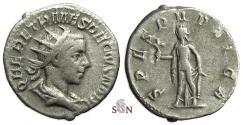 Ancient Coins - Herennius Etruscus Antoninianus - SPES PVBLICA - RIC 149