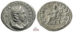 Ancient Coins - Otacilia Severa Antoninianus - CONCORDIA AVGG - RIC 124a  - Ex Lückger collection