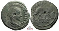 Ancient Coins - Gordianus III. AE 22 mm - THRACE,  Deultum - she-wolf suckling twins