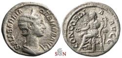 Ancient Coins - Orbiana Denarius - CONCORDIA AVGG - RIC 319