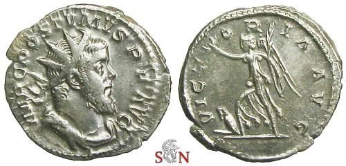 Ancient Coins - Postumus Antoninianus - VICTORIA AVG - Elmer 125