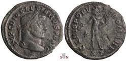 Ancient Coins - Diocletianus Follis - GENIO POPVLI ROMANI - Ticinum - RIC 31a