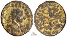Ancient Coins - Probus Gold Plated Antoninianus - SOLI INVICTO
