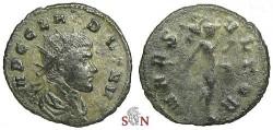 Ancient Coins - Claudius II Gothicus Antoninianus - MARS VLTOR - scarce draped bust - RIC 66