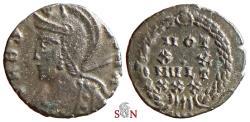 Ancient Coins - Urbs Roma City Commemorative - VOT XX MVLT XXX - ex Grohs-Fligely collection 1875-1962