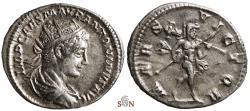 Ancient Coins - Elagabalus Antoninianus - MARS VICTOR - RIC 122