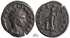 Ancient Coins - Aurelianus Antoninianus - FELIC SAECVLI // S - RIC 122