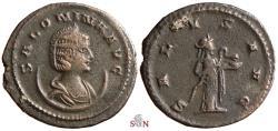 Ancient Coins - Salonina Antoninianus - SALVS AVG - Antioch mint - RIC 88