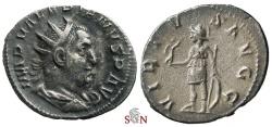 Ancient Coins - Valerianus I. Antoninianus - VIRTVS AVGG - RIC 267 - Ex Lückger Collection
