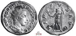 Ancient Coins - Gordianus III. Antoninianus - VIRTVS AVG - RIC 71