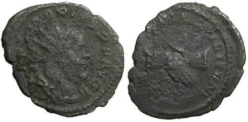 Ancient Coins - Marius Antoninianus - Clapsed Hands - Elmer 632