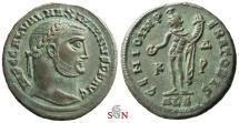Ancient Coins - Maximinus II. Daia Follis - GENIO IMPERATORIS - RIC 105 c