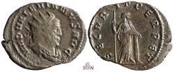 Ancient Coins - Valerianus I. Antoninianus - SECVRIT PERPET - Cologne mint - RIC 256