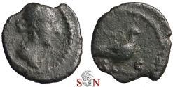 Ancient Coins - Anonymous AE Quadrans - Venus / dove - RIC 24
