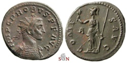 Ancient Coins - Probus Antoninianus - COMES AVG - RIC 116