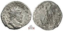 Ancient Coins - Postumus Antoninianus - VICTORIA AVG - Elmer 132