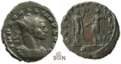 Ancient Coins - Aurelianus Antoninianus - RESTITVT ORIENTIS - RIC 140