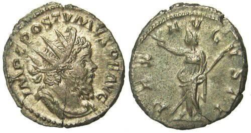 Ancient Coins - Postumus Antoninianus - PAX AVGVSTI - Elmer 300