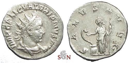 Ancient Coins - Valerianus I. Antoninianus - SALVS AVGG - RIC 121