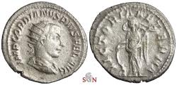 Ancient Coins - Gordianus III Antoninianus - VICTORIA AETERNA - RIC 156