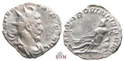 Ancient Coins - South Petherton Hoard (UK)- Postumus Antoninianus - SALVS PROVINCIARVM - Elmer 123