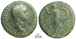 Ancient Coins - Domitianus As - Minerva walking right - RIC 242a