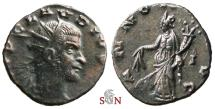 Claudius II Gothicus Antoninianus - ANNONA AVG with modius - Very Rare