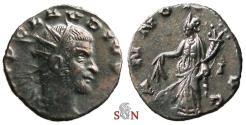 Ancient Coins - Claudius II Gothicus Antoninianus - ANNONA AVG with modius - Very Rare