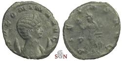 Ancient Coins - Salonina Antoninianus - PIETAS AVG / P - RIC 22