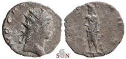 Ancient Coins - Gallienus Antoninianus - SALVS AVG / P - Mediolanum mint - MIR 1286 f