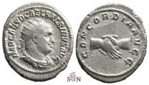 Ancient Coins - Balbinus Antoninianus - CONCORDIA AVGG - RIC 10