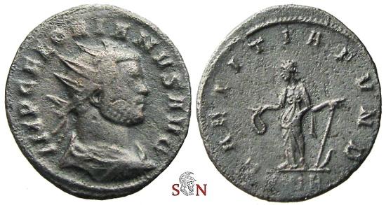 Ancient Coins - Florianus Antoninianus - LAETITIA FVND - RIC 34