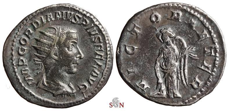 Ancient Coins - Gordianus III. Antoninianus - VICTOR AETER - RIC 154