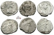 Ancient Coins - Julia Domna - Lot of 3 Denarii