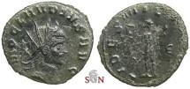 Ancient Coins - Claudius II Gothicus Antoninianus - FIDES MILITVM - Rome mint - RIC 38