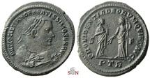 Ancient Coins - Diocletianus Follis - PROVIDENTIA DEORVM QVIES AVGG - RIC 673a