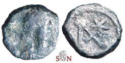 Ancient Coins - Anastasius AE Nummus - Monogram - Constantinopolis mint - SBCV 13