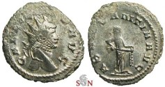 Ancient Coins - Gallienus Antoninianus - ABVNDANTIA AVG - MIR 573a